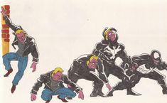 Venom_Spider-man_Doodles_03_Aug2012 by AlexBaxtheDarkSide on DeviantArt