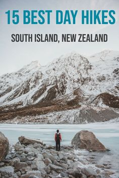 15 Best Day Hikes in the South Island, New Zealand - Migrating Miss 15 Best Day Hikes in the South Island, New Zealand - Looking for the best hikes in New Zealand? These 15 New Zealand day hikes will show you the most epic scenery in New Zealand! Tonga, Bali, Couple Travel, Best Island Vacation, New Zealand Adventure, Where Is Bora Bora, New Zealand Travel Guide, New Zealand South Island, French Polynesia