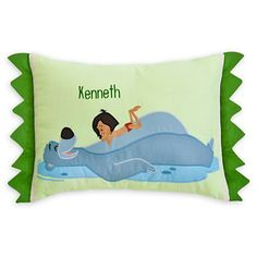 Mowgli and Baloo Pillow for Baby - The Jungle Book #DisneyBaby