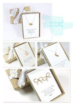 Custom bridesmaids gifts from Bip & Bop.
