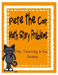 Pete the Cat Story Problems