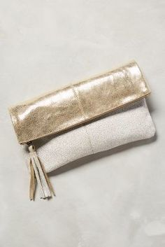 Jasper & Jeera Tarina Shimmered Pouch #anthrofave