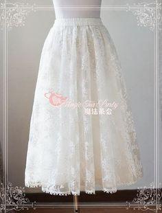 Newly Added: Magic Tea Party Embroidery Gauze Lolita Long Petticoat >>> http://www.my-lolita-dress.com/magic-tea-party-embroidery-gauze-lolita-long-petticoat-ma-113