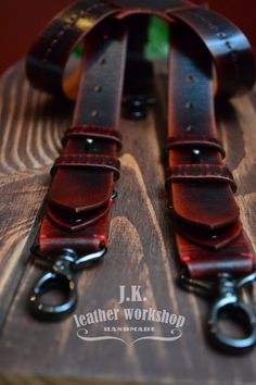 Mens Leather suspenders Personalized Men's suspenders Brown suspenders mens braces handmade men's suspenders wedding suspenders wedding gift