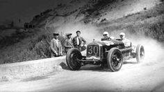 Targa Florio 1930. Achille Varzi su Alfa Romeo P2