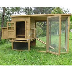 Nice looking chicken coup