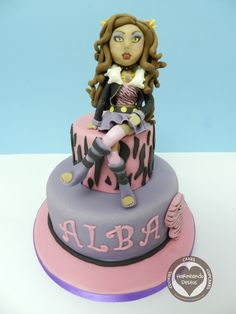 Monster High muñeca fondant - Buscar con Google