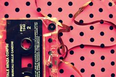 What can one do with a pen and a casette in his hands. Soul Music, Music Is Life, Pink Love, My Love, What's My Favorite Color, Orange Is The New, Music Wallpaper, Pink Patterns, Favim
