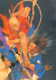 Hiroaki Samura, Blade of the Immortal, BotI Illustration Collection, Giichi, Taito Magatsu