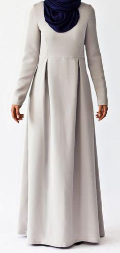 but expensive :( need to learn how to sew this Islamic Fashion, Muslim Fashion, Modest Fashion, Girl Fashion, Modest Wear, Modest Dresses, Hijab Abaya, Muslim Hijab, Muslim Long Dress