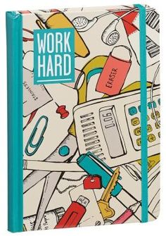 Work hard... but don't forget to play too! This journal will remind your workaholic friend of just that. $8.95