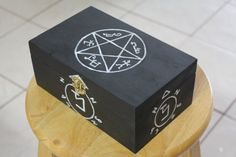 SPN || Symbols Keepsake Box  Etsy ~ CaitiesCorner ~ $20.00 MUST HAVE !!!  ;-)