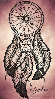Dibujos De Atrapasueños A Lapiz Imagui Tatoo Pinterest