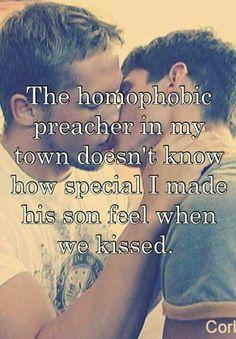 """""""The Son of a a Preacher Man"""" Kiss"""