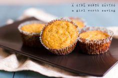 Paleo Lemon Poppy Seed Muffins #AGirlWorthSaving