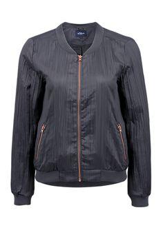 Bomberjacke in Plissee-Qualität im s.Oliver Online Shop e32a73354149a