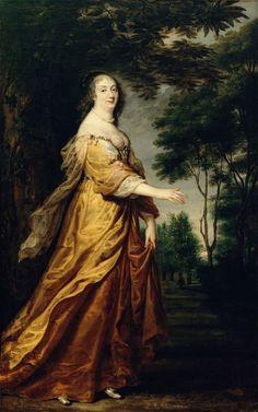 1645 Ludwika Maria Gonzaga by Justus van Egmont