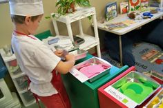 dramatic play ideas for preschoolers: sandwich shop