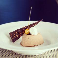 Semifreddo #SorellinaBoston #Dessert #Hazelnut