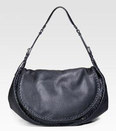 Bottega Veneta Cervo Flap Shoulder Bag