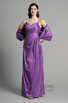 Empire Spaghetti Straps Floor-length Taffeta Bridesmaid Dresses 14305325