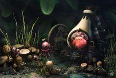 Steampunk Fantasy Art | ... fantasy art concept art steampunk faith fantasy creepy clowns fantasy