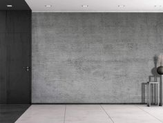 - Gray Striped-Textured Cement - Wall Mural, Removable Vinyl Wallpaper, Home Decor - inches *The wall mural is cut into 6 pieces for easy installation, each in size is (Height x Width) *All wall murals have a durable Grey Striped Wallpaper, Striped Accent Walls, Modern Wallpaper, Vinyl Wallpaper, Bristol, Cement Walls, Concrete Wall, Removable Wall Murals, Stripes Texture