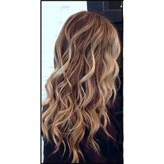 Beachy brown hair