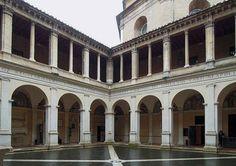 The Chiostro del Bramante (Bramante Cloister) is a temporary exhibition entre in Rome, it is part of the monumental complex of Santa Maria della Pace