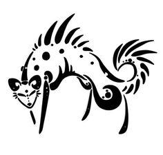 Hyena Tattoo by o0Hail0o.deviantart.com on @deviantART