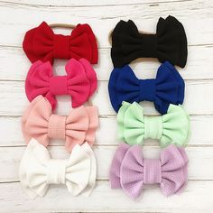 Baby Hair bands for Girls Baby bling Bows Headband Hair Accessories - Baby Gear City Baby Hair Bands, Hair Band For Girl, Style Doux, Stylish Baby Clothes, Bow Hairband, Baby Hair Accessories, Baby Bling, Baby Girl Headbands, Big Bows