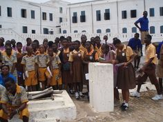 Visit to Cape Coast Castle by United Nations Information Centres, via Flickr