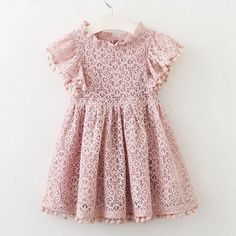 Pom Pom Trim Satin Ribbons Boho Style 3-6 Month Size Baby Girl Dress Up Party Dress Made of Riley Blake Designer Cotton Adjustable Strap