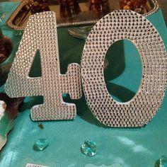 Fiesta de 40 años tiffany