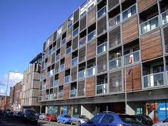 mid rise residential modern architecture | Modern mid-rise apartment building in Manchester: it meets the ...