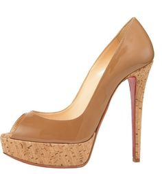 heels with corks. yes.