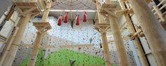 Kletterwand & Hochseilgarten in der Kletterhalle Sauerland in Schmallenberg