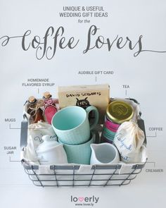 Wedding Gift Ideas Perfect for Coffee Lovers