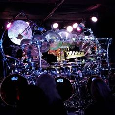 Terry Bozzio about to tear it up @harlowsnightclub #terrybozzio #herewerock