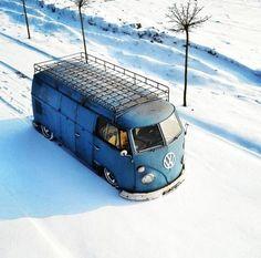 #VW Snow #Bus #ValleyMotorsVW