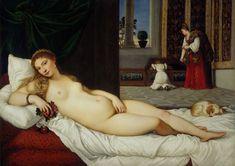 Titian (Pieve di Cadore 1488/1490 - Venice 1576)Venus of Urbino1538