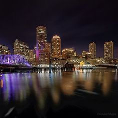 View from Long Wharf by @Xavi Tapia Mejia
