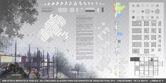 """Galeria de Resultado do """"VI Concurso Alacero 2013"""" de projeto em aço para estudantes de arquitetura - 11"""