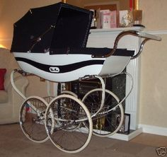 Nice baby carriage, Wilson SilverCross Marlborough ( it might be a doll carriage and not suitable for babies)