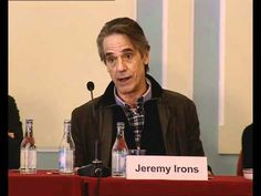 "Jeremy Irons at the ""Night Train to Lisbon"" film Press Conference - ""...there is something very magical about your country..."" #portugal"