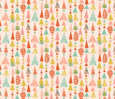 mountains fabric by bethan_janine on Spoonflower - custom fabric