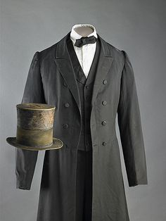 Lincoln suit & hat (at the American smithsonian still I believe. My fav! American Presidents, American Civil War, American History, American Women, Us History, Fashion History, History Facts, Black History, Presidential History