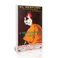 El Perfume - לאונטו קפיאלו | גאיה - הדפסות קנבס לבית ולמשרד
