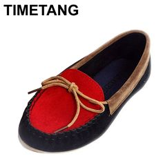 2015 New Arrival boat shoes flat heel round toe shoes Women loafers sweet flat four seasons shoes women's shoes 240