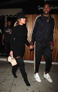 Khloe Kardashian et Tristan Thompson